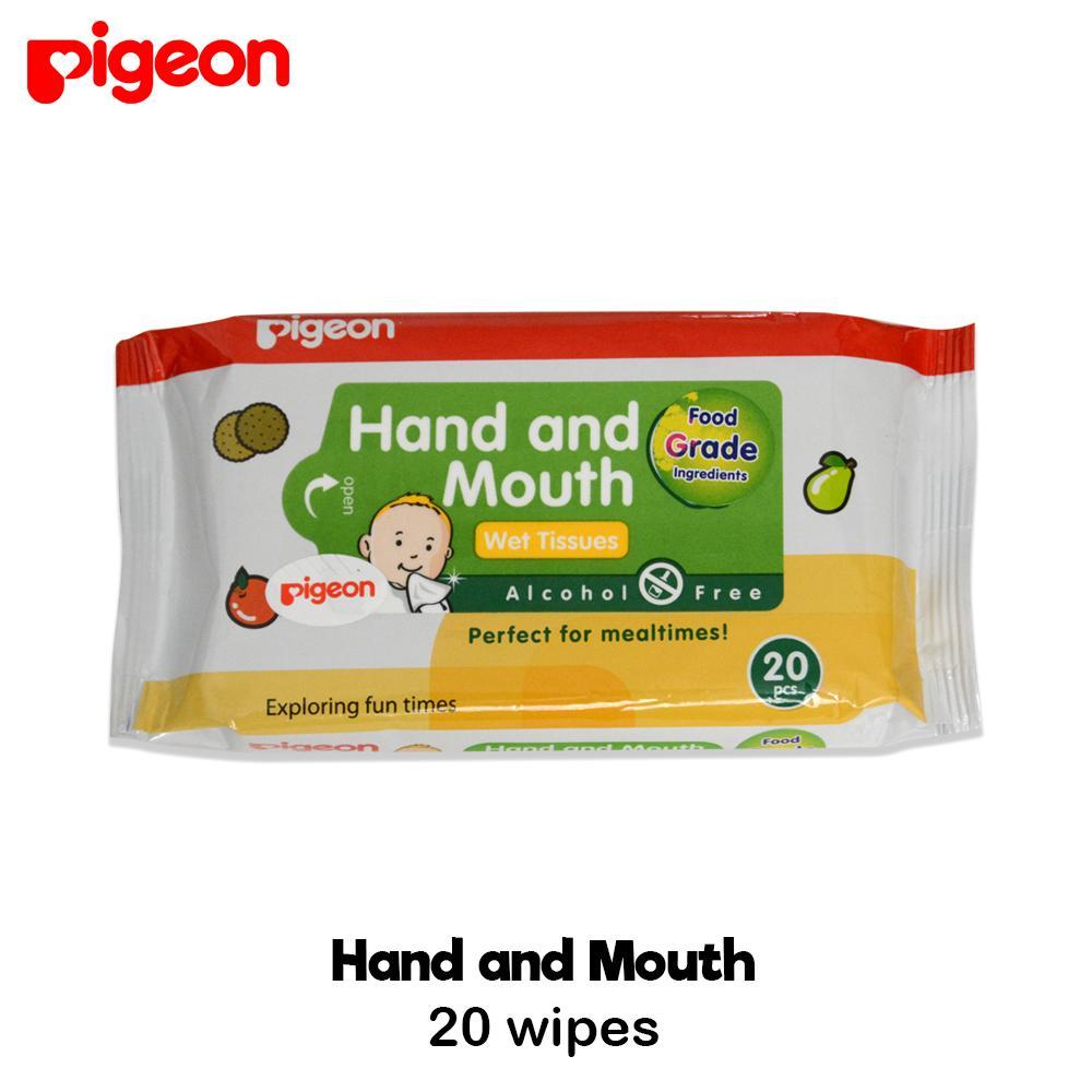 Pigeon Baby Wipes Hand And Mouth 20'S / Tisu Basah / Tissue Basah