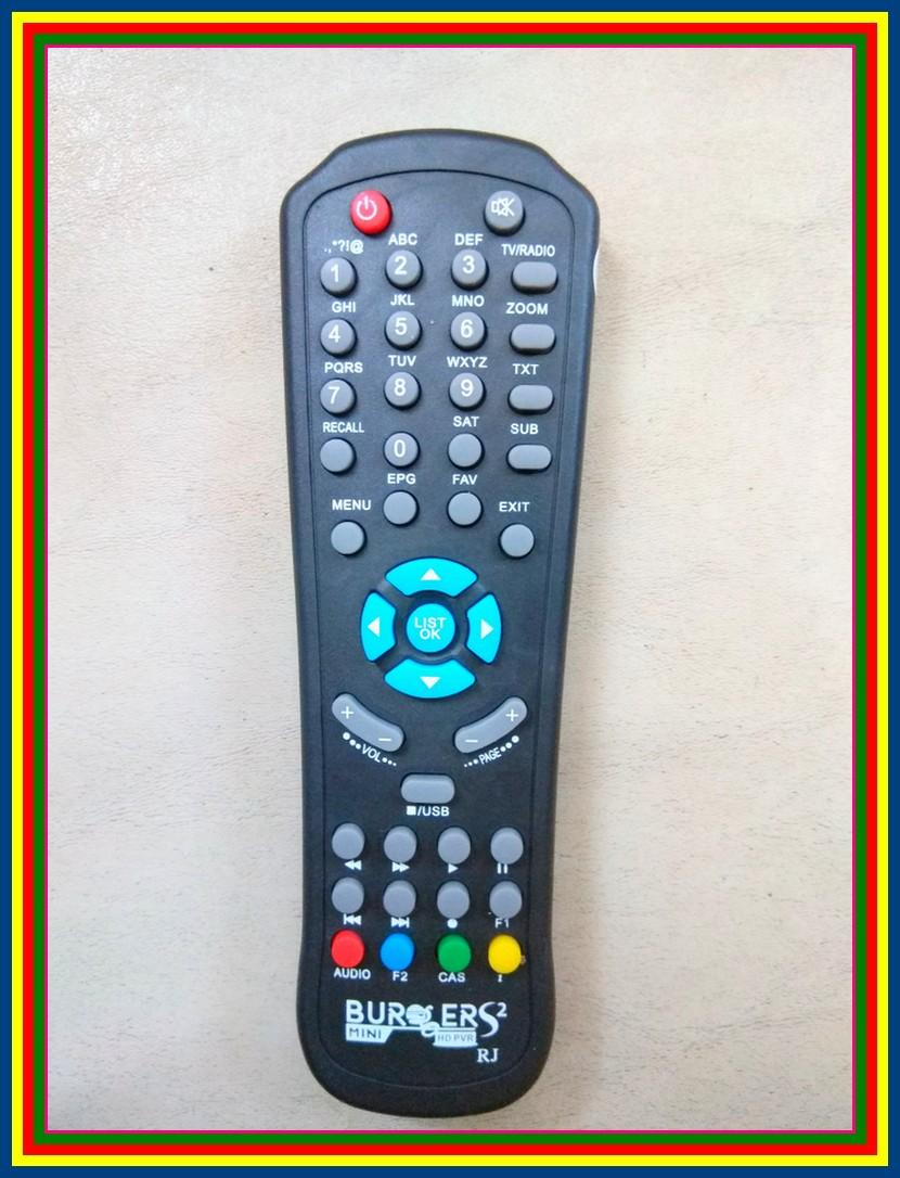 Remot Remote Receiver Parabola Matrix Burger S2 Mini S 2 Mini - 2