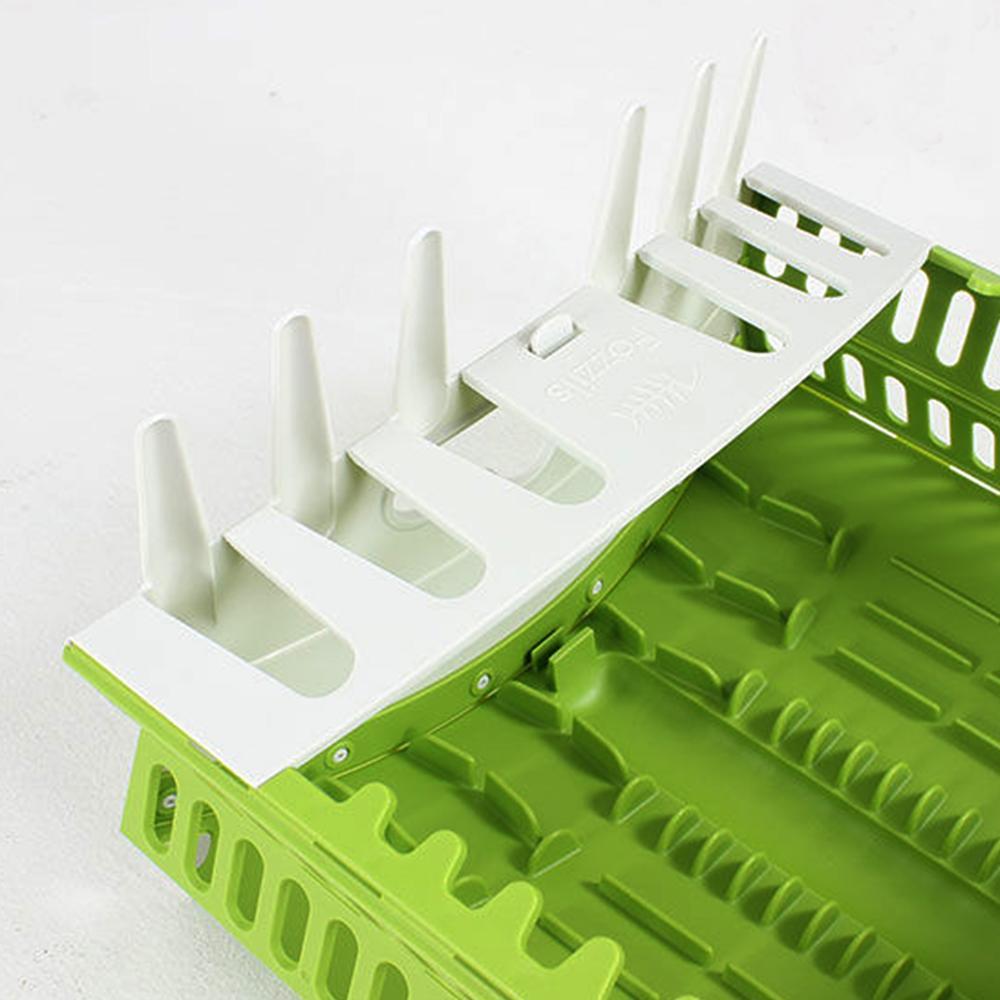 Rak Piring Lipat - Collapsible Compact Dish Rack - 4 .