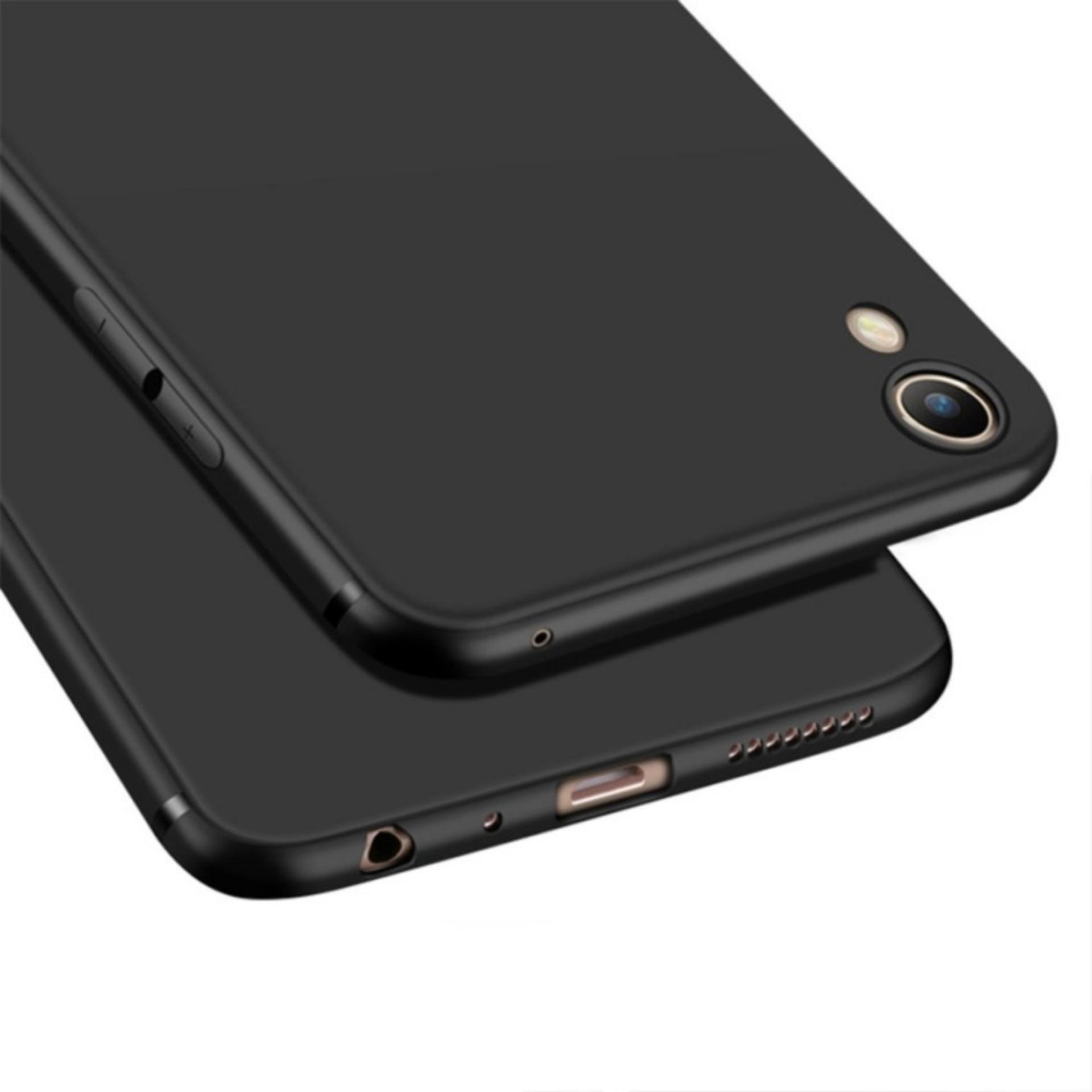 Case Slim Black Matte Oppo A37 Neo 9 Baby Skin Softcase Ultra Thin Jelly Silikon