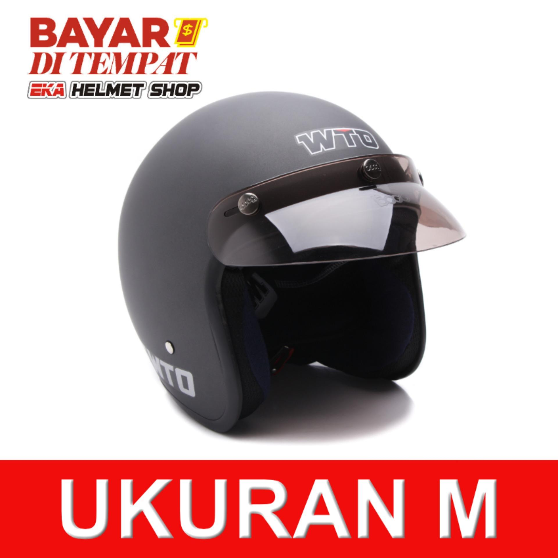 Cek Harga Baru Helm Hbc Cakil Retro Abu Doff Terkini Situs Steve Legend Hitam Wto Helmet Bogo Pet Cls1