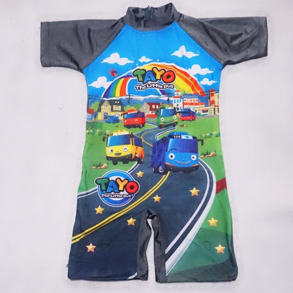baju renang anak TK usia 4 5 6 7 karakter