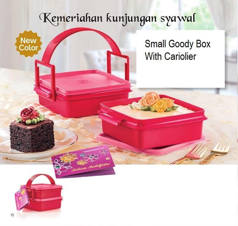 Rantang Tupperware Small Goody Box with Cariolier