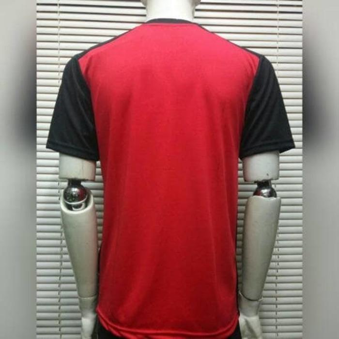 Baju Kaos Badminton / Bulutangkis Yonex Y30 Red Black - 2