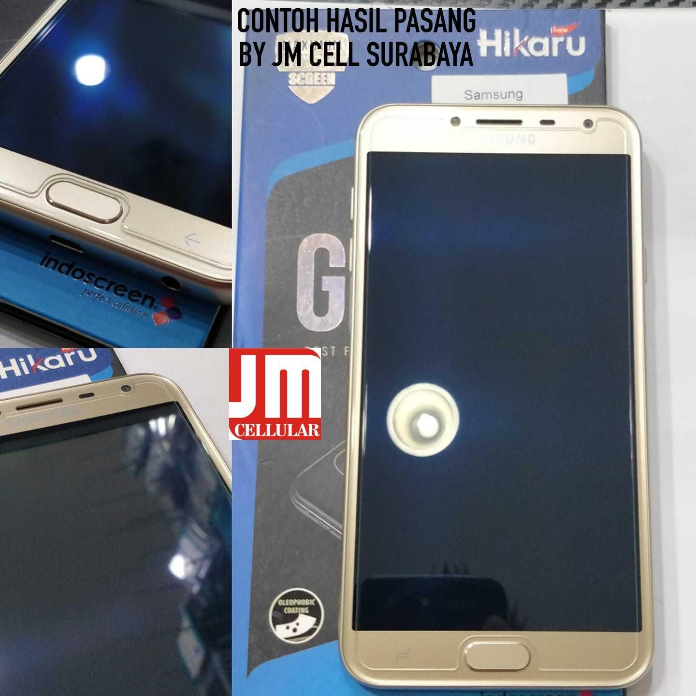Fitur Anti Gores Tempered Glass Samsung Galaxy J4 2018 Hikaru