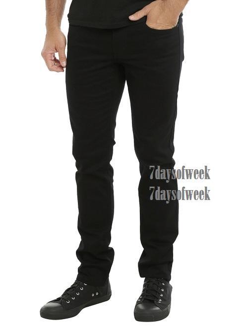 7dayofweek - jeans skinny black premium black // HOT ITEM