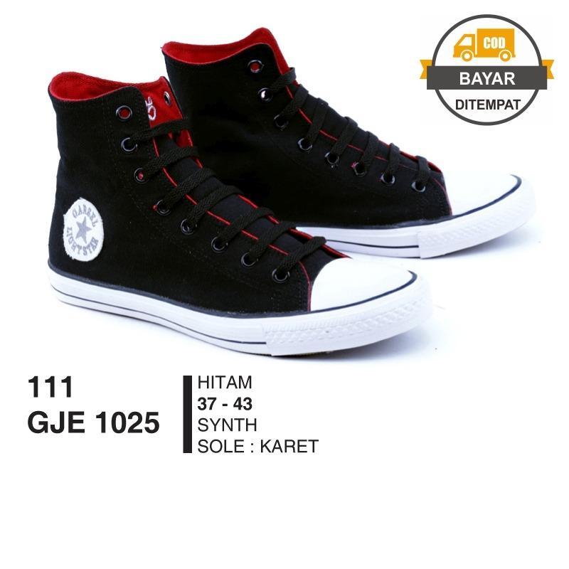Daftar Harga Garsel Sepatu Sneakers Pria Sepatu Casual Sepatu Sekolah Gjex1025 Black Garsel Shoes