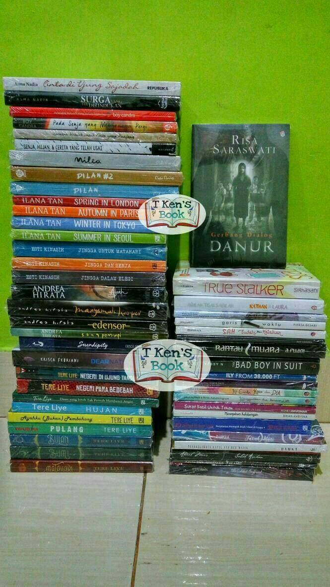 Paket 11 Novel Tere Liye Dilan Boy Candra Wattpad DLL