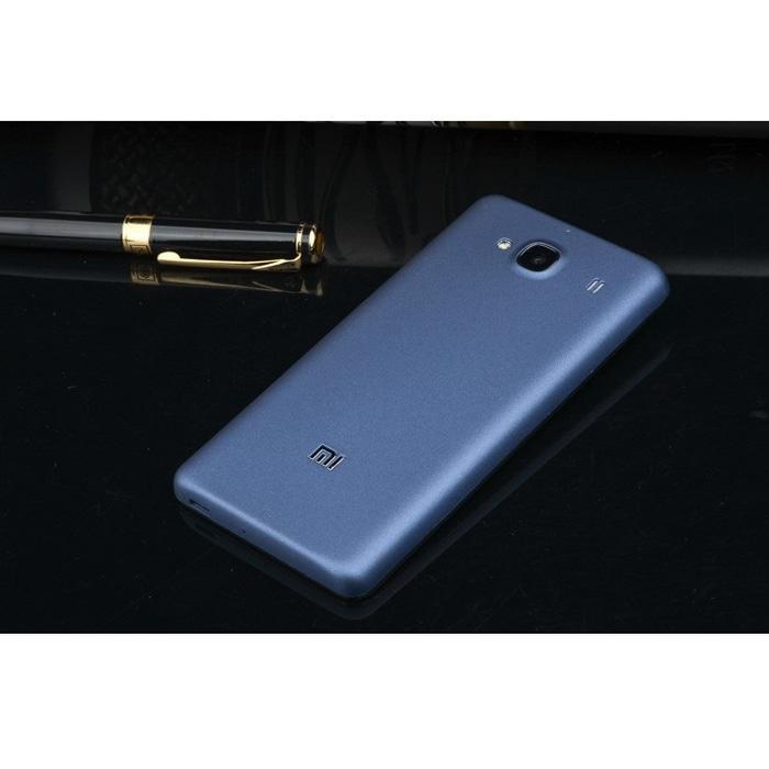 Matte Battery Back Cover Xiaomi Redmi 2 / Redmi 2 Prime - Gray
