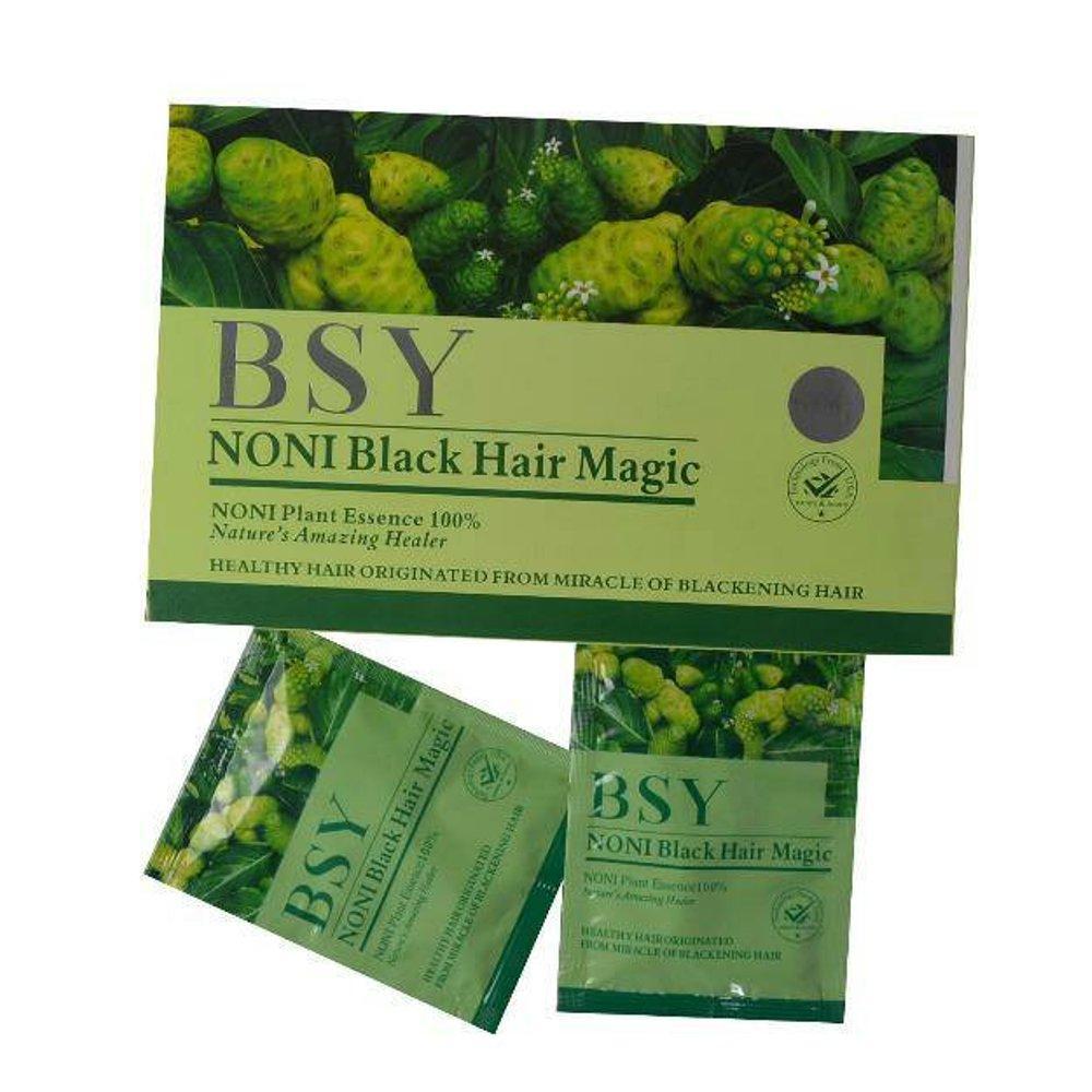 Kelebihan Cltusia Shampo Noni Black 25 Ml 3 Pcs Terkini Daftar Bsn Bsy Hair Penghitam Rambut Herbal