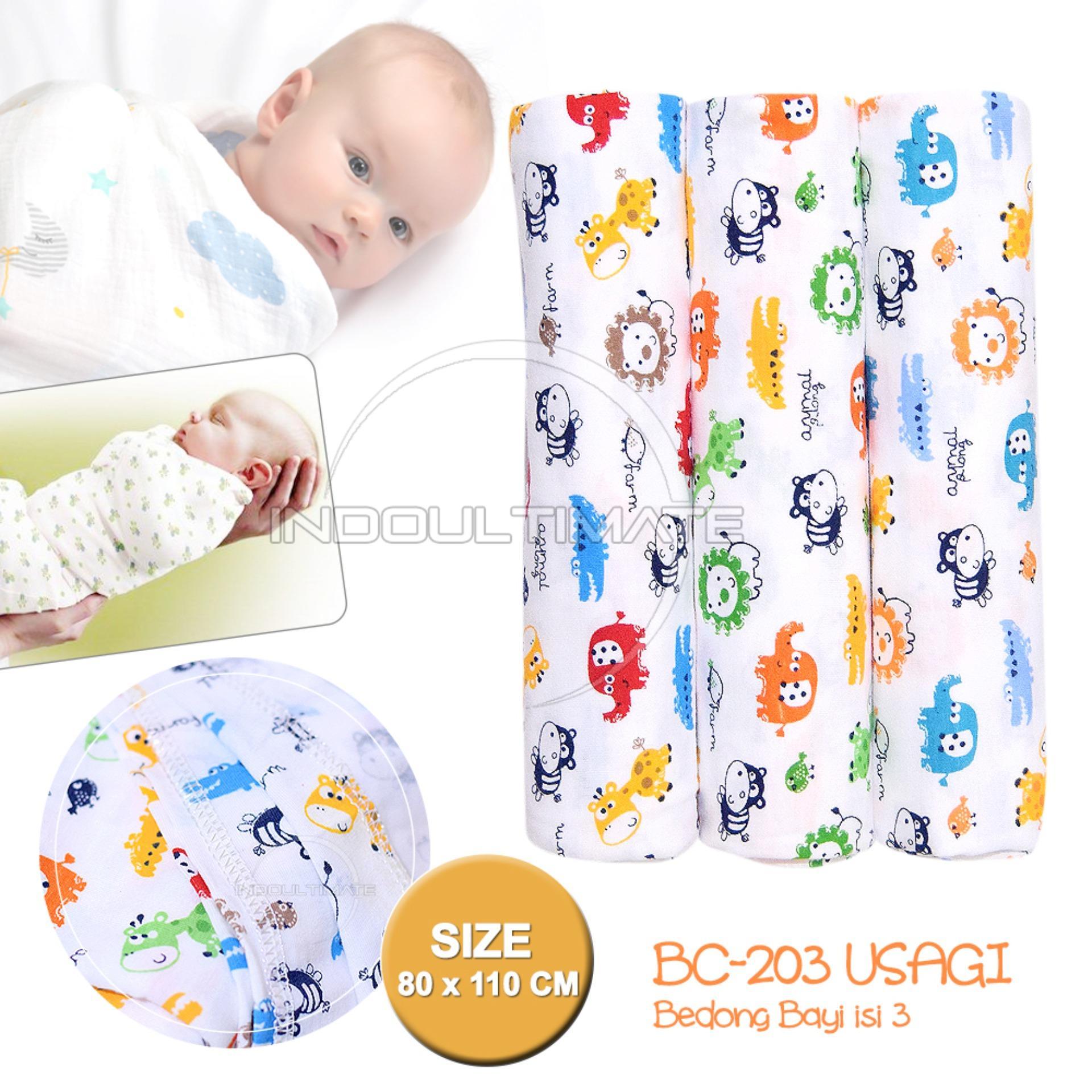 Perlak Alas Ompol Tidur Bayi Kain Salur Isi 6 Daftar Harga Atau Motif Premium Bedong Usagi 3pcs Ukuran 3in1 Selimut