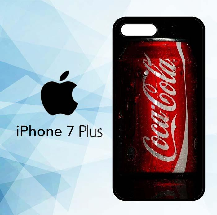 Casing Hardcase HP iPhone 7 Plus Coca Cola Red Can X5747