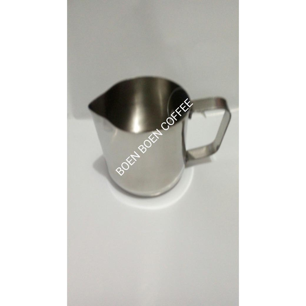 Bolehdeals Stainless Steel Espresso Milk Frothing Pitcher Steammilk Jug Dengan Garis 350ml Measurement Latte Paling Dicari 1000 Ml Harga Ekonomis Terlaris