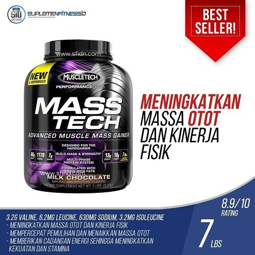 Cuci Gudang Muscletech Mass Tech 7Lbs