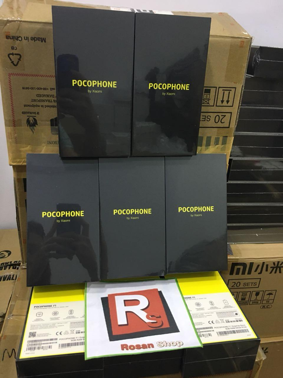 Fitur Xiaomi Pocophone F1 Poco 64gb Ram 6gb 20mp Bnib Original By 128gb Hitam Detail Gambar Rom Global Terkini