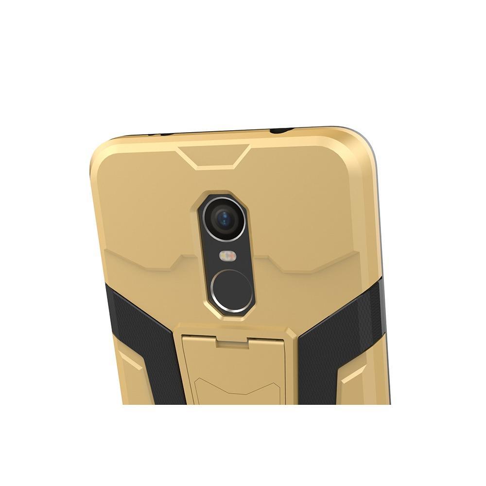 Case Xiaomi Redmi Note 4 Transformer Robot Casing Iron Man Black 4a Hybrid Standing For 4x Snapdragon