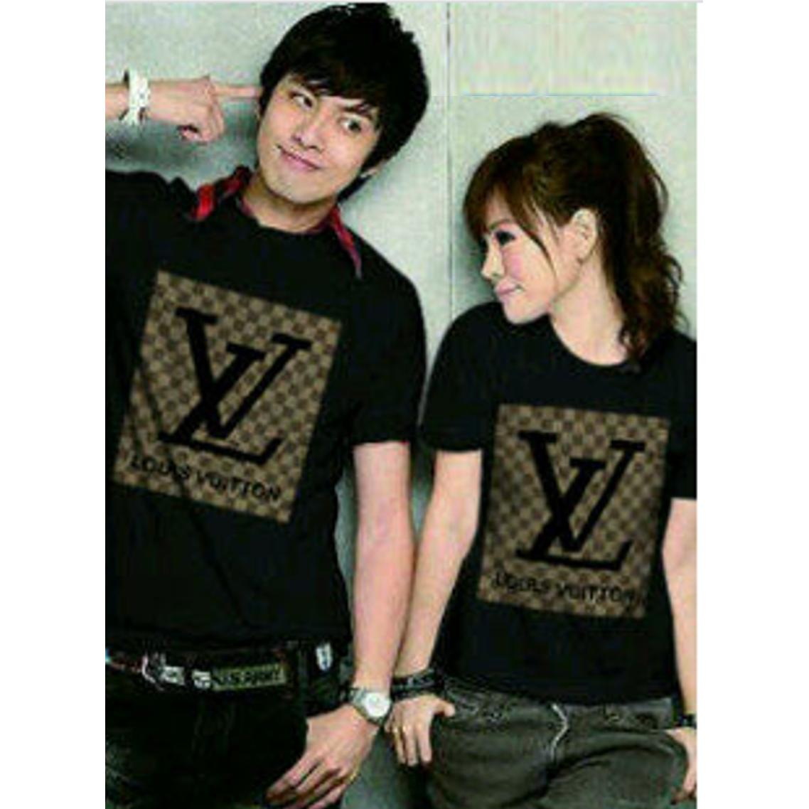 cs - kaos couple / t-shirt pasangan lengan pendek KENZO PARIS I TOWER PARIS I LUV I