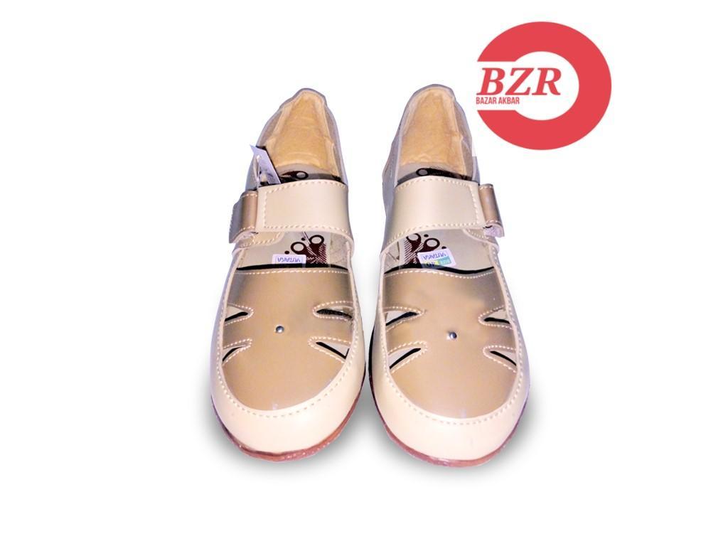 BZR Yutaka flat shoes cream-jahe - 3 .