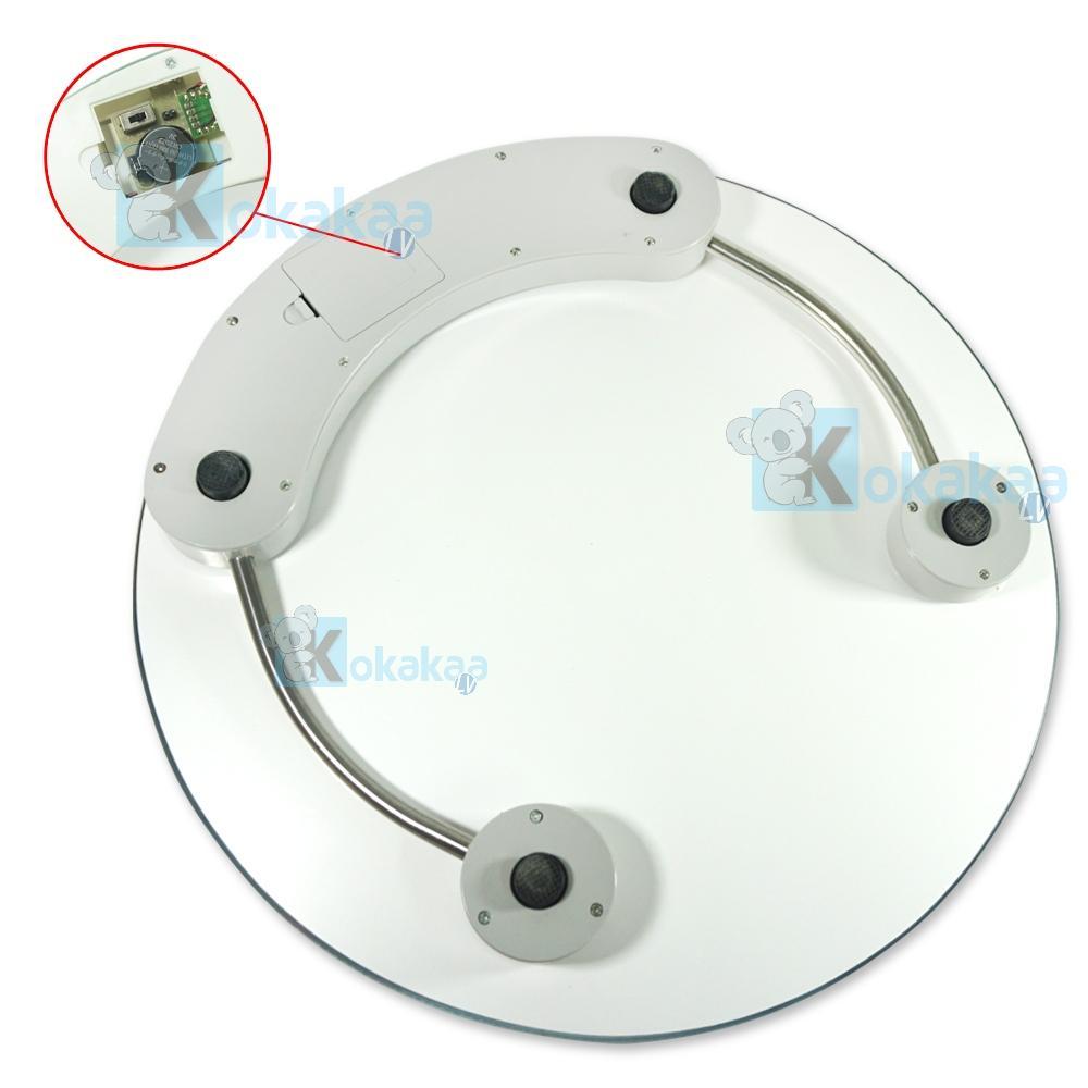 Kelebihan 26cm Timbangan Badan Digital Personal Scale Weight Dan Motif Bola Dengan Bentuk Bundar Bulat Dandiameter 33cm
