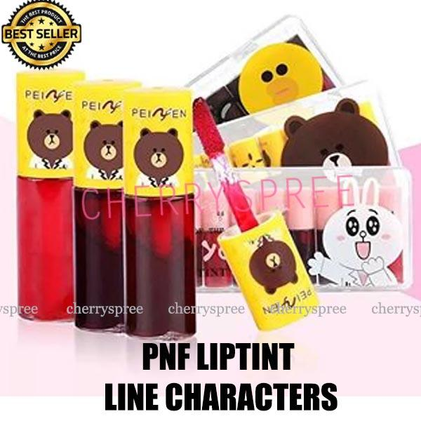 PnF LINE Kitty Character Liptint Ombre Lips Lip Tint Brown Sally Lip Tint  Make Up Bibir 0c52531ba4