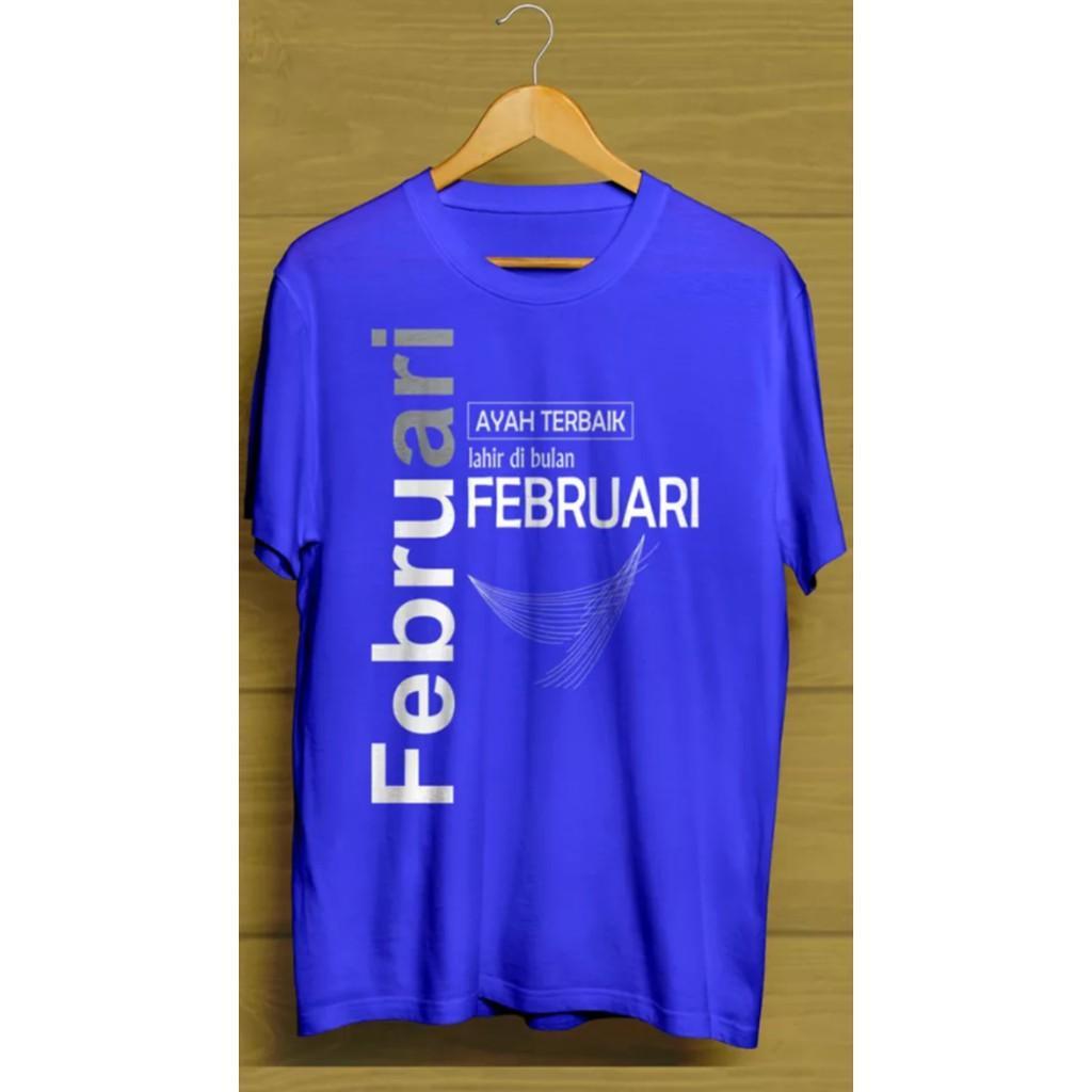 Kaos/Tshirt/Baju/Atasan Ayah Terbaik Februari 3 - Uquvui