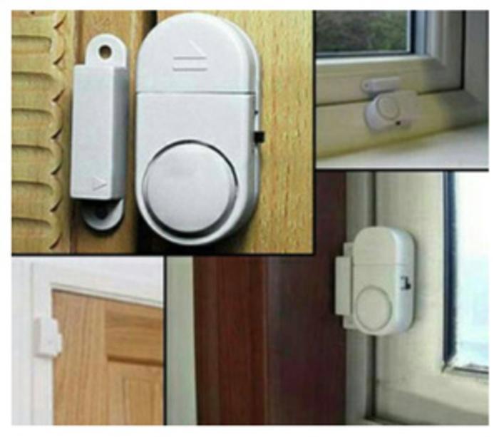Alarm Pintu Anti Maling / Door Entry Alarm BATERAI AAA