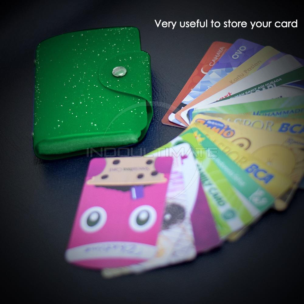 PREMIUM Korean Card Wallet 26 Slot /Dompet Kartu ATM/credit card OR 92-