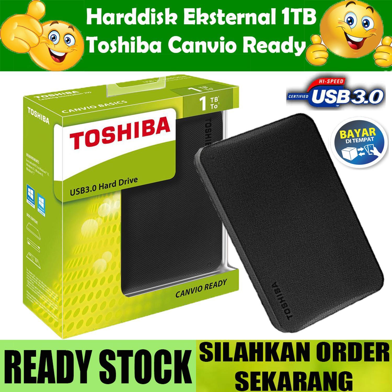 Toshiba HDD External READY USB 3.0 Harddisk Eksternal 1TB