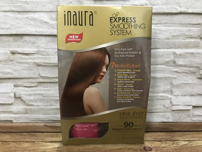 Inaura Express Smoothing System Resistant Hair 130Ml - ready stock