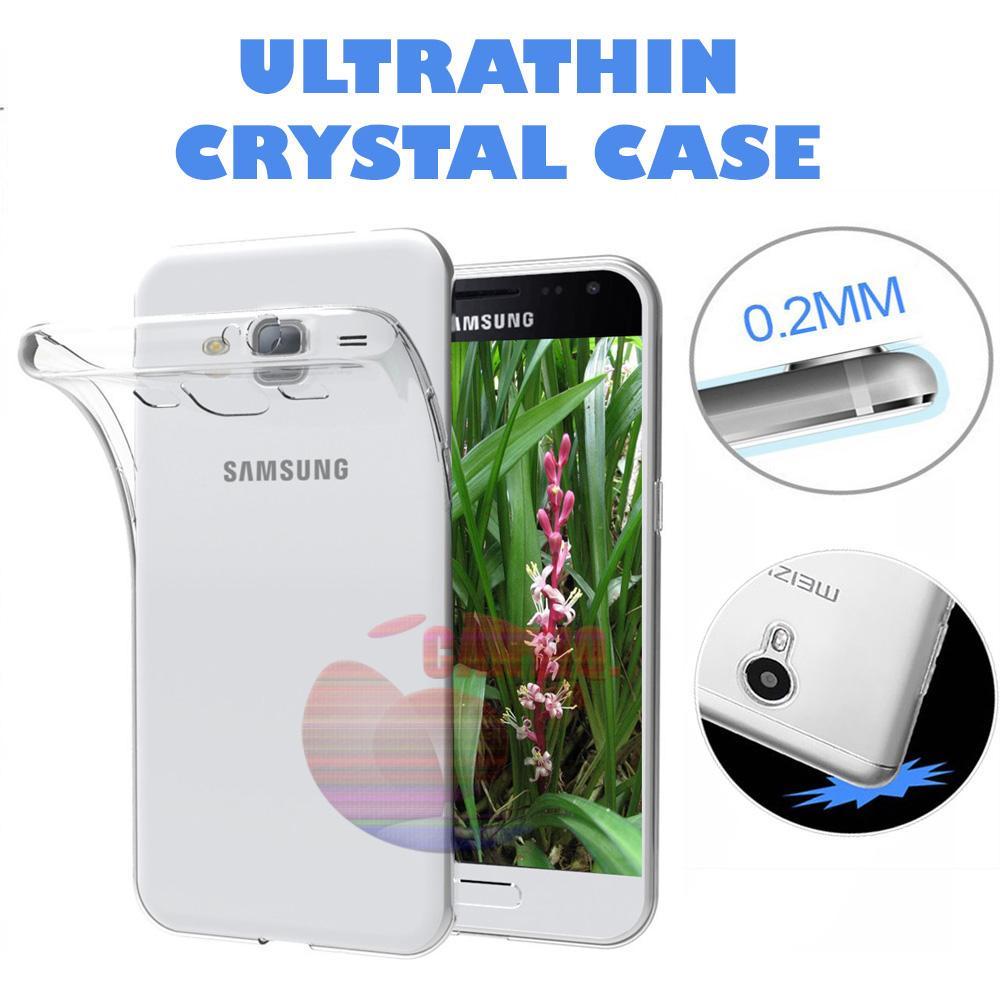 Icantiq Case Samsung Galaxy Core I8262 Luxury Softcase Anti Jamur Air Case 0.3mm / Silikon