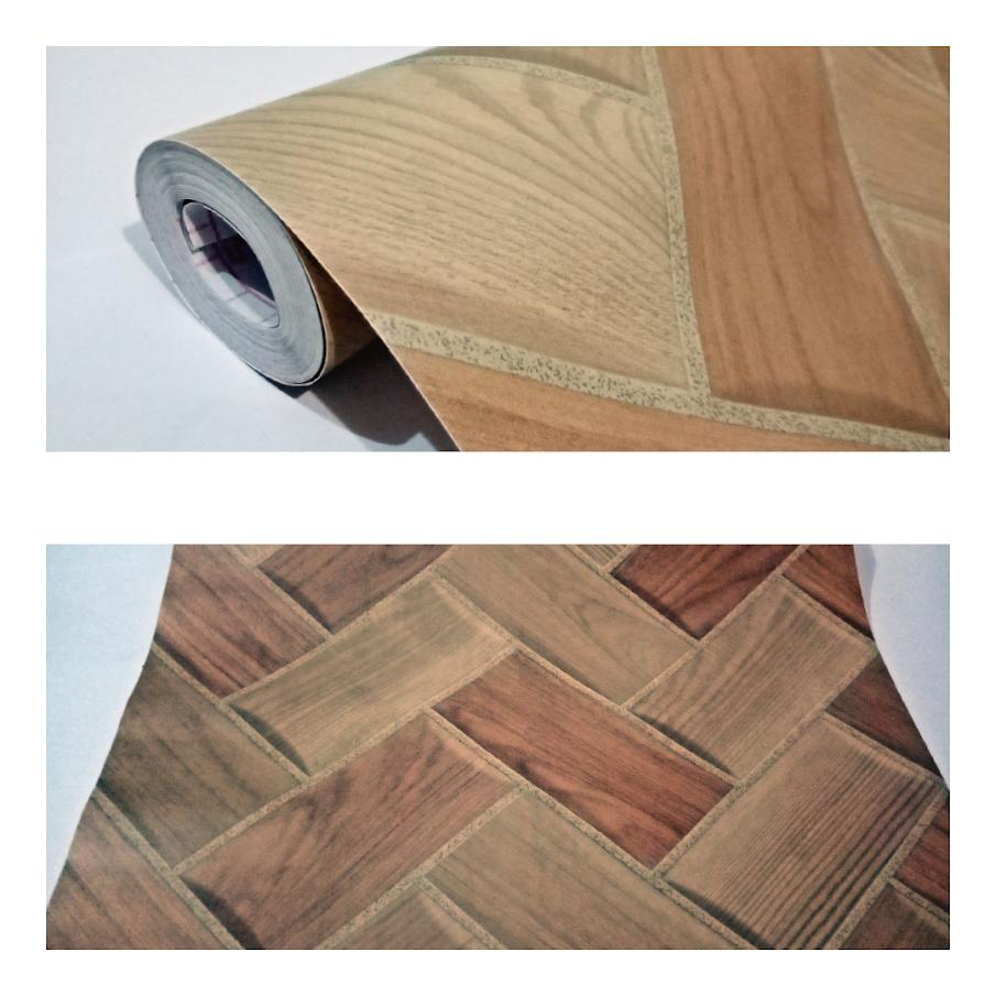 Kelebihan Wallpaper Sticker Dinding Motif Batu Bata Krem Coklat Kayu Pernis Silang Natural Cantik Elegan Bagus Sekali 10 Meter