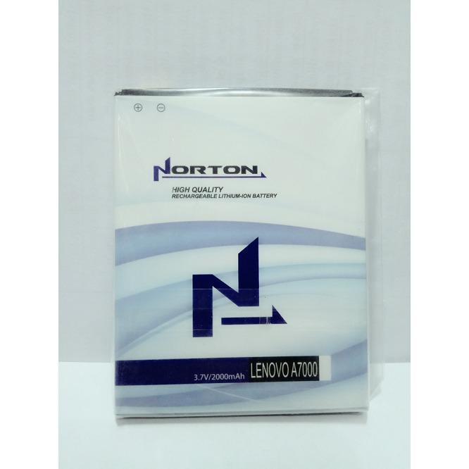 Norton Baterai Batt Batre Battery BL243 BL-243 Untuk Lenovo A7000. S8, K3 Note, A7600