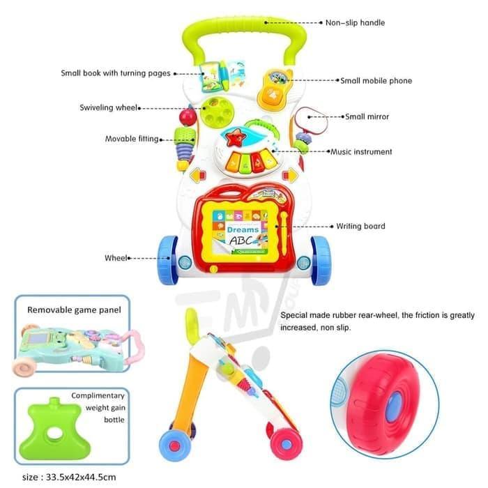 Baby Walker Musical Bayi Untuk Belajar Jalan