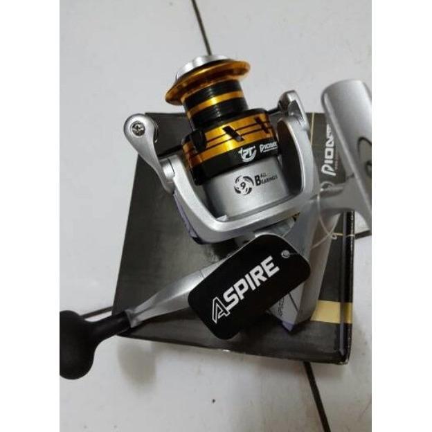 Reel Pioneer Aspire ASP-5000i Spinning 9 BB Aluminium Spool