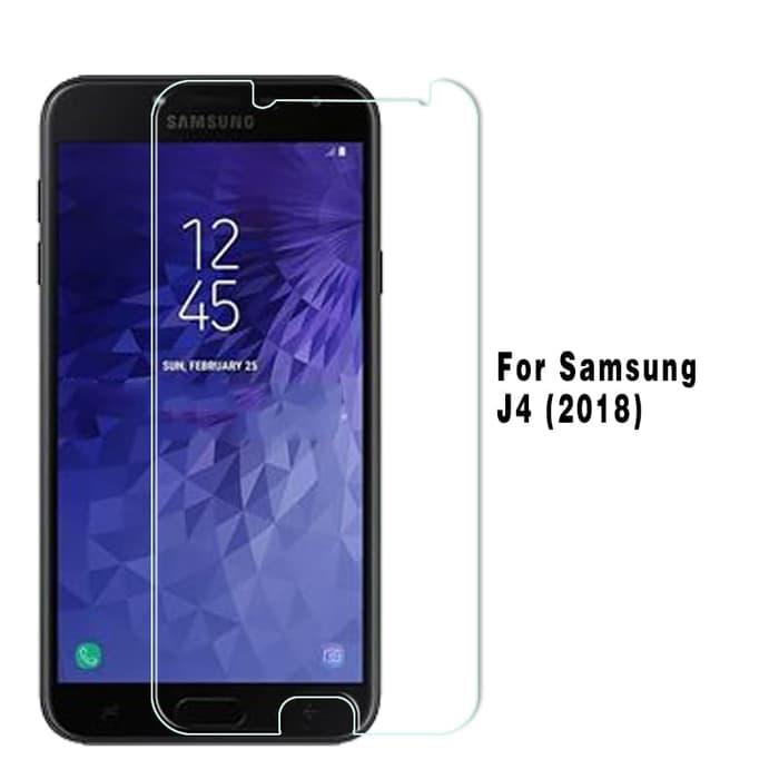 Features Tempered Glass Anti Gores Samsung J4 Plus 2018 New Dan