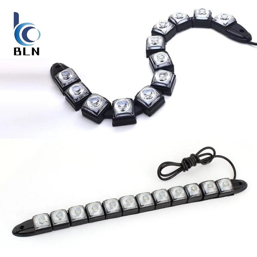 Harga 【Bln Auto】12V 6W Stretch Led Daytime Running And Decorative Lamp Waterproof Ip67 Snake Drl Flexible Strip Bending Fog Lamp Length 30 40Cm Yang Murah Dan Bagus