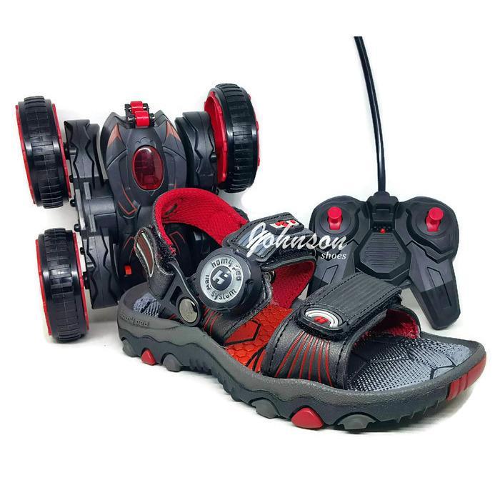 [ Johnson Shoes ] Sendal / Sandal Gunung Anak HOMY PED - BLITZ 01 100% ORIGINAL Berhadiah Mobil Remote Mainan PREDATOR