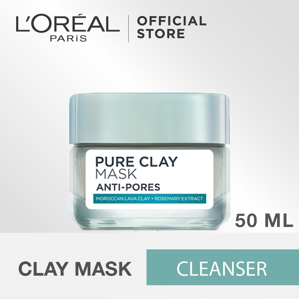 Spesifikasi L Oreal Paris Pure Clay Pore Refining Mask 50Ml Online