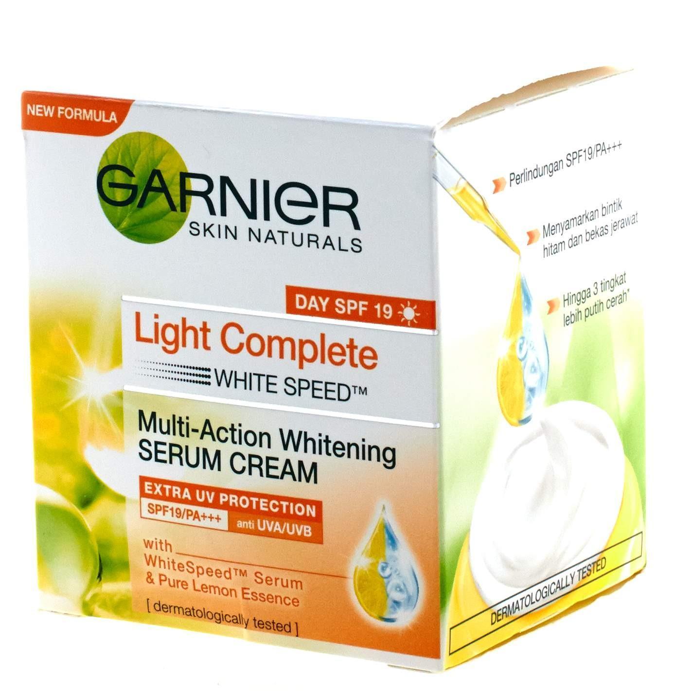 Lihat Garnier Light Complete Speed Serum Cream 50ml Dan Harga White Super Foam 10 100ml 3