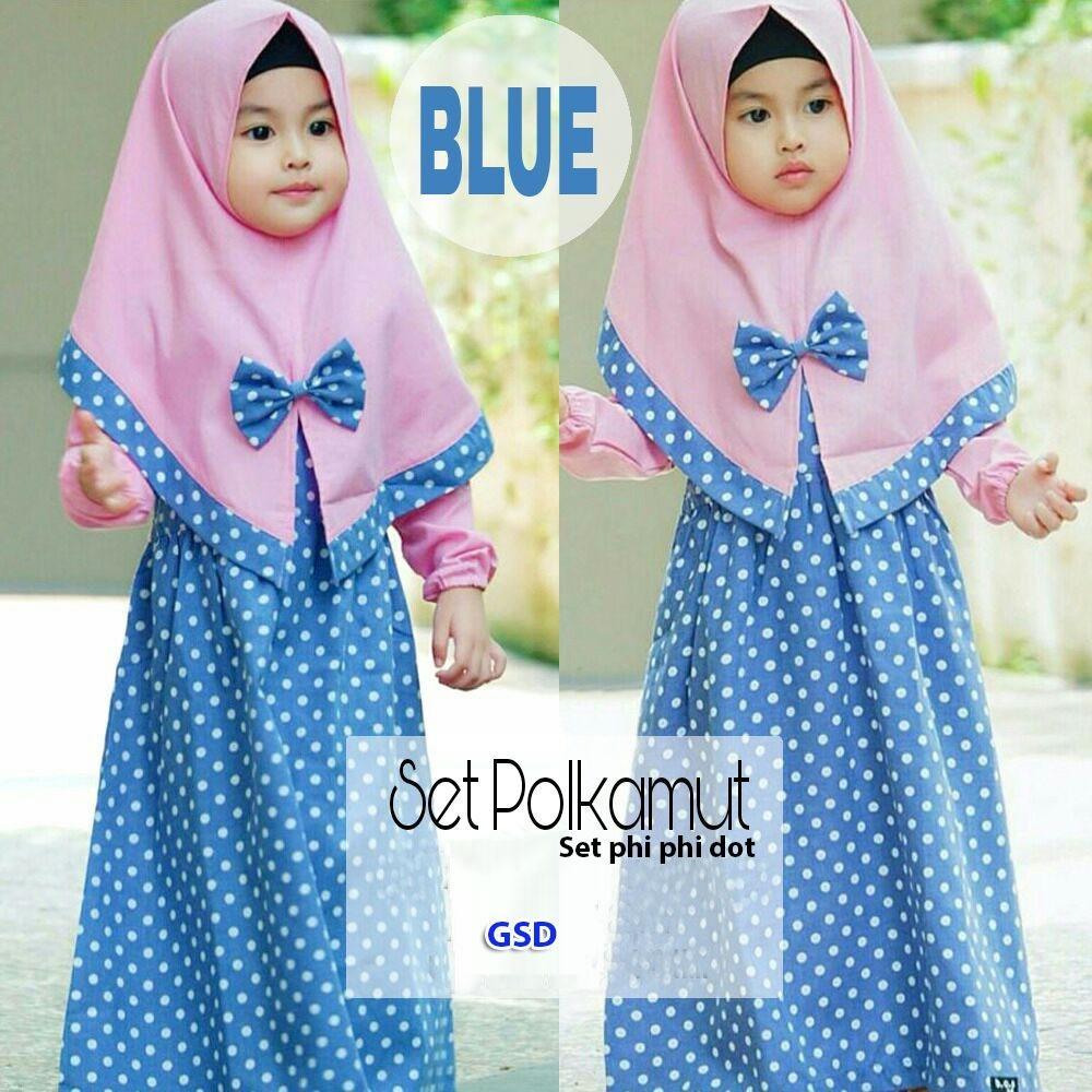 GSD-Baju Gamis Anak / Baju Muslim Anak / Baju Anak Cewek / Baju Anak