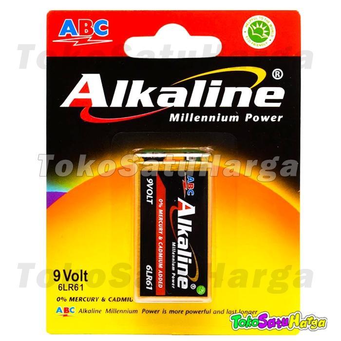 Detail Gambar TSH Baterai Battery Alkaline ABC Kotak 9v 9volt 9 volt Power 6LR61 Remote Terbaru