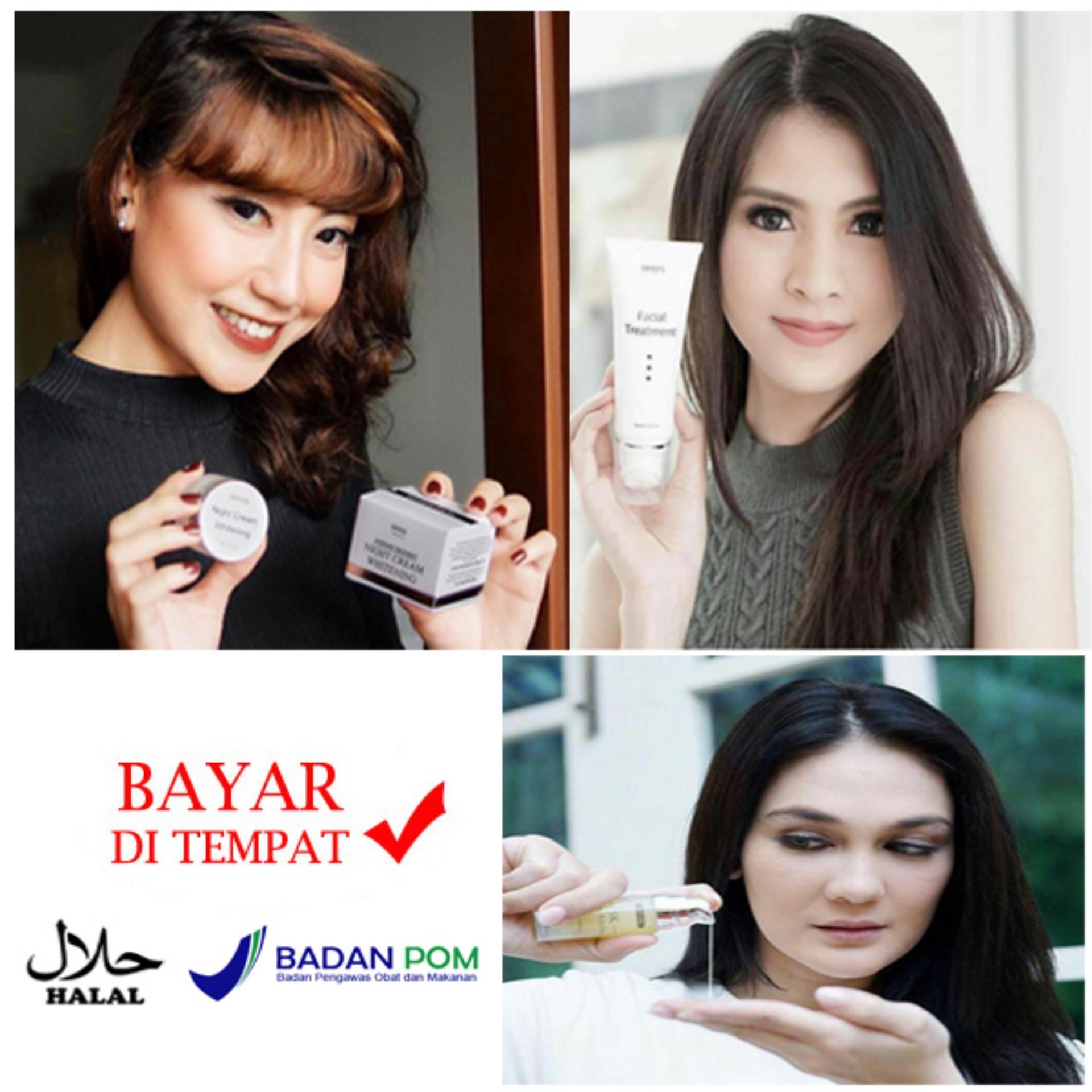 Kelebihan Ertos Paket Glowing Super Murah Facial Treatment Serum Kinclong Original Detail Gambar Night Care Cream Terbaru