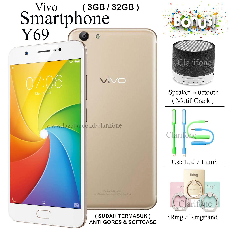 Toko Vivo Y69 Ram 3Gb Rom 32Gb Layar 5 5 Inch White Gold Termurah Di Dki Jakarta