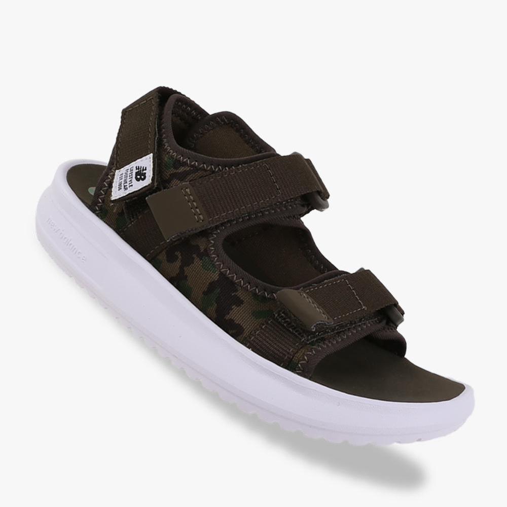 harga New Balance Sandal KS750 Boys - Dark Green Lazada.co.id