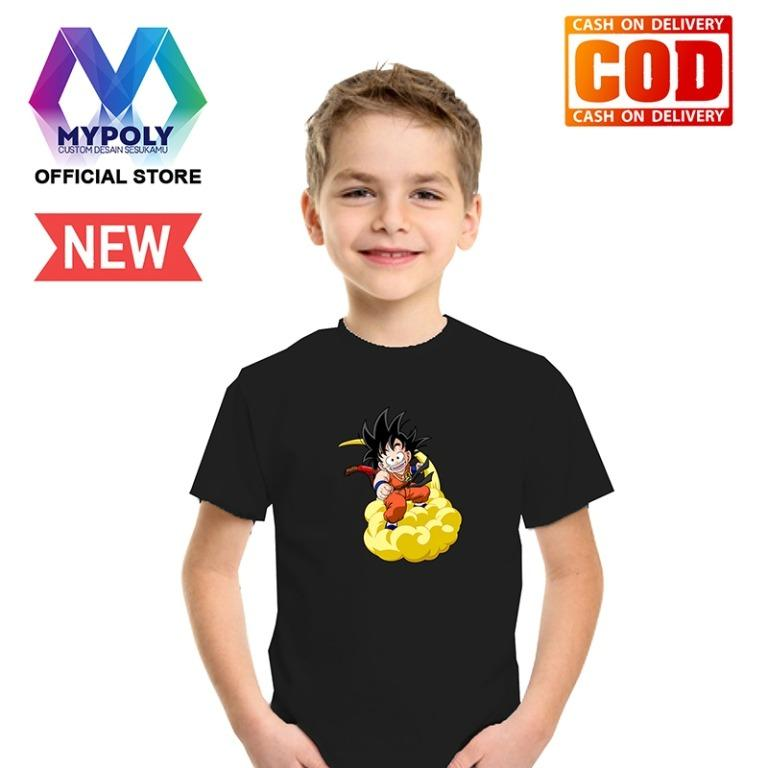 Kaos Premium Mypoly Anak Pria laki-laki AP / Baju Couple Family Keluarga / Tshirt distro / Fashion atasan / Kaos Anime / Kaos Animasi / Kaos Super Hero / Kaos Kartun / Kaos Cartoon / Kaos Lucu / Kaos Gambar Karakter / Kaos Anak Dragon Awan Kinton