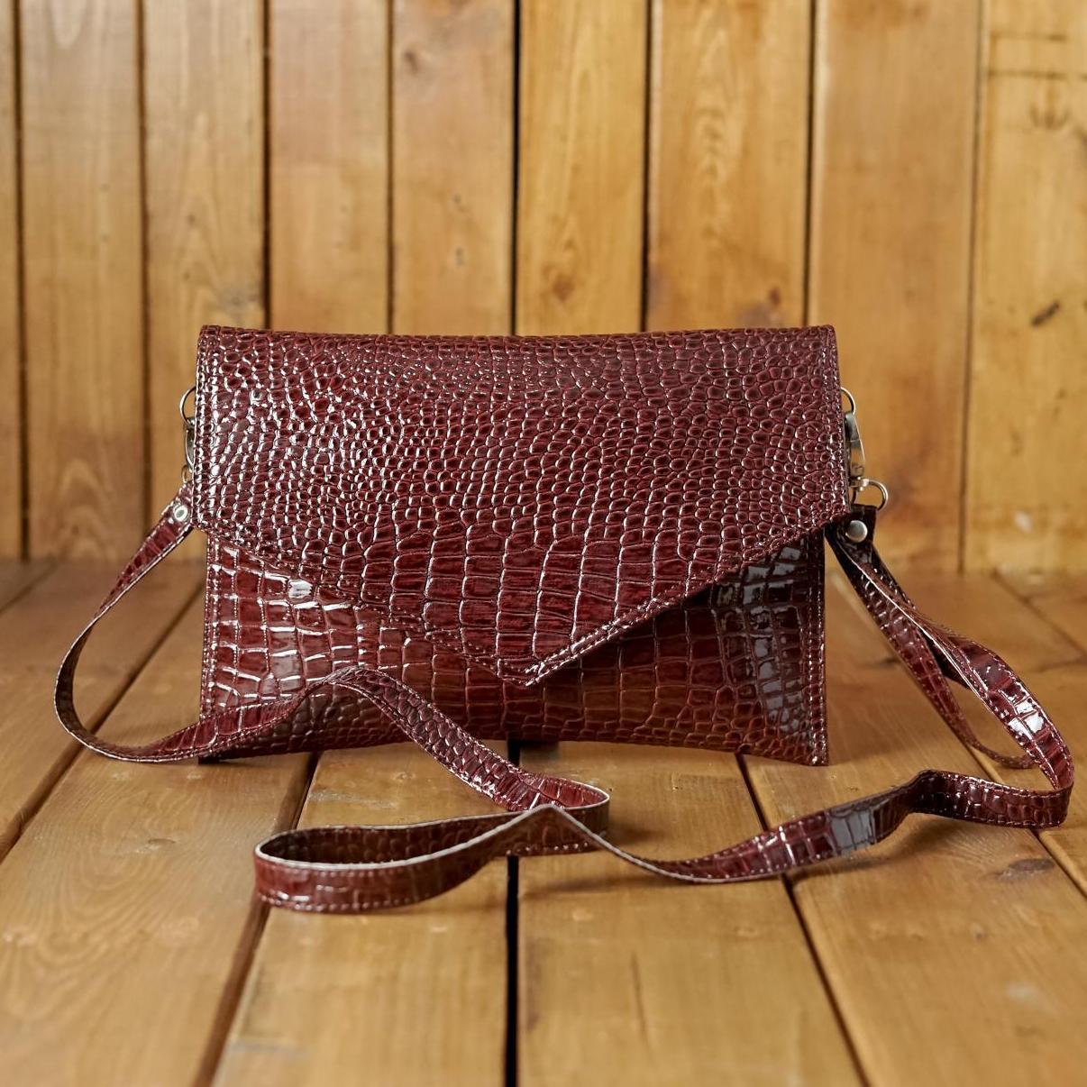 Detail Gambar Zelig official New Fashion Cluth Motif Crocodile   Dompet  Pesta Wanita   Tas selempang d00f6e7dd0