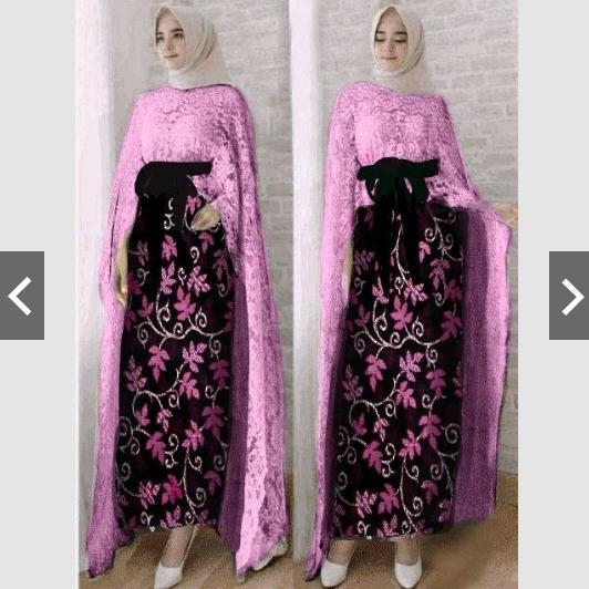 Cek Harga Baru Moslemwear Setelan Set Batik Silk Prada Wanita