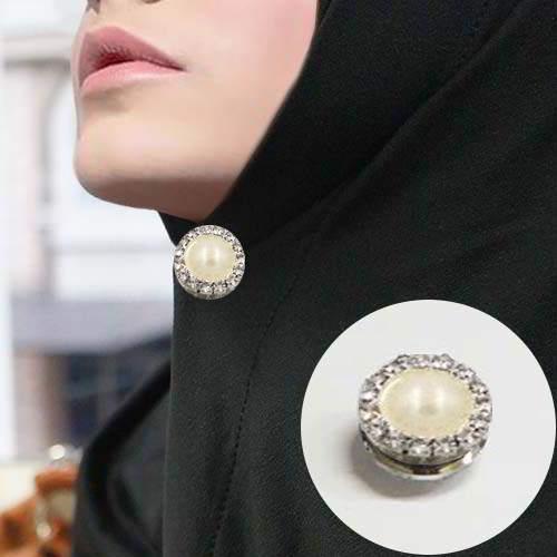 Bross fashion Korea strong magnetic brooch scarf Muslim accessories flower pattern/ bross hijab european style ...