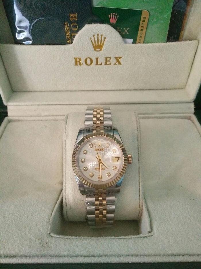 Rolex Datejust Tick Twotone Steel Gold Clone Swiss ETA