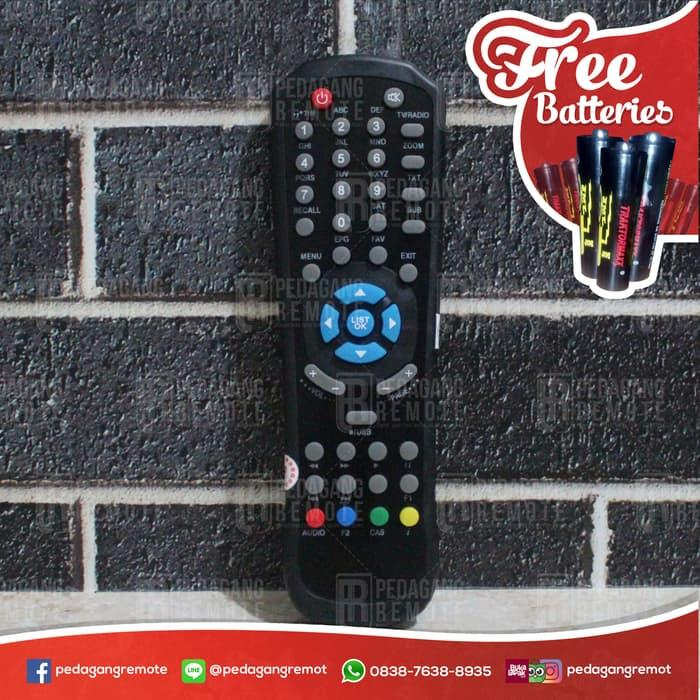 PALING LARIS Remot Remote Receiver TV Parabola Matrix Garuda MPEG-4